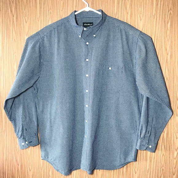 7e15cc2223666 Eddie Bauer BIG   TALL Mens Shirt Size 2X TALL